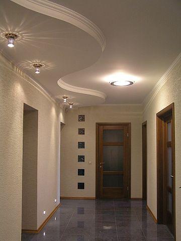 Ремонт частного дома потолки