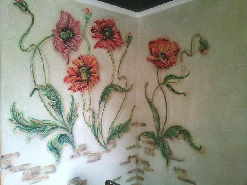Рельефная картина своими руками