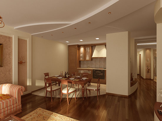 Дизайн квартир кухня столовая