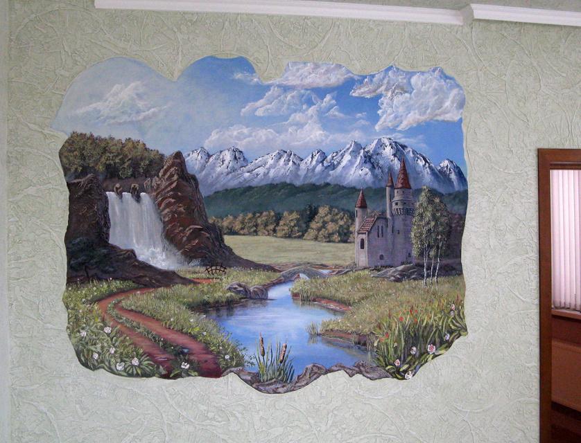 Художественные панно на стене в объёме