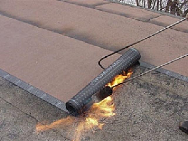 Покрыть крышу гаража гидроизолом своими руками 42