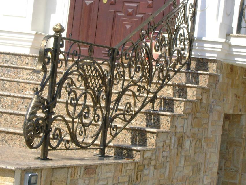 Художественная ковка балконы