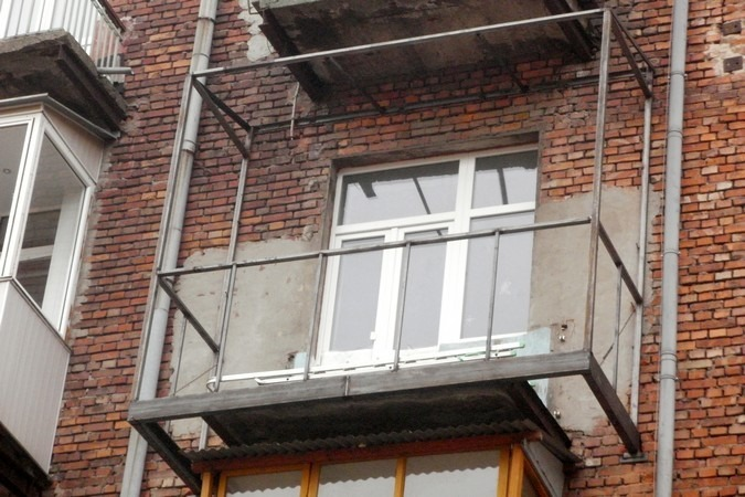 Расширение балкона фото..