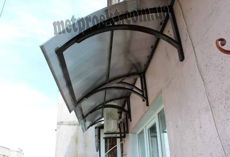 Самадельные казырьки на балкон - страница новейших галерей.