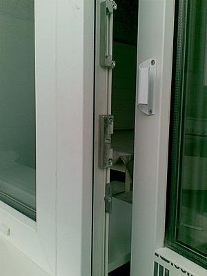 Балконная ручка (ракушка)алюминиевая и защелка, кишинев.