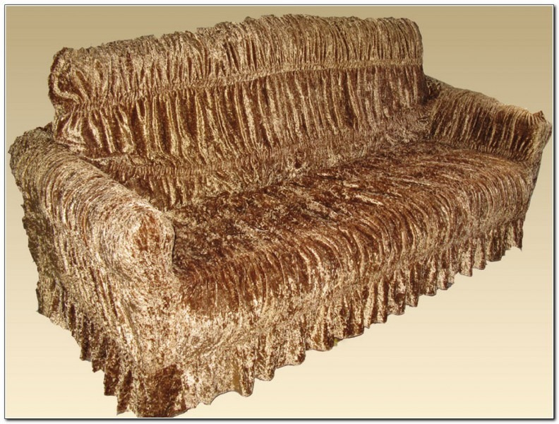 Чехол на мягкую мебель на резинке своими руками