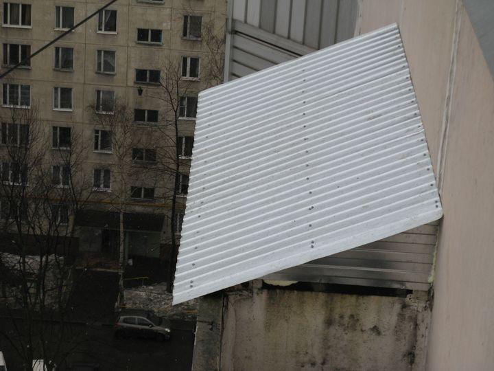 Крыша из профнастила для вашего балкона! объявление в раздел.