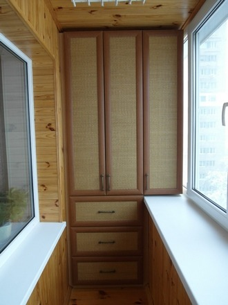 Шкафы на балкон из мдф. - старые - каталог статей - выкладыв.
