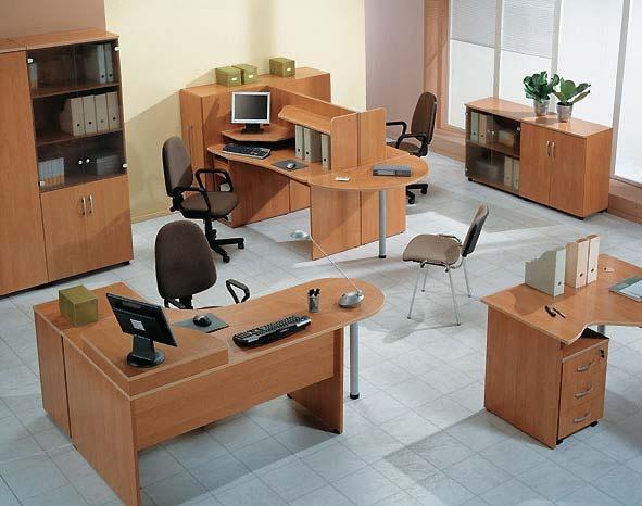 эскизы офисной мебели: