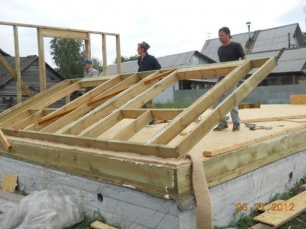 Каркасное строительство дома технология своими руками видео
