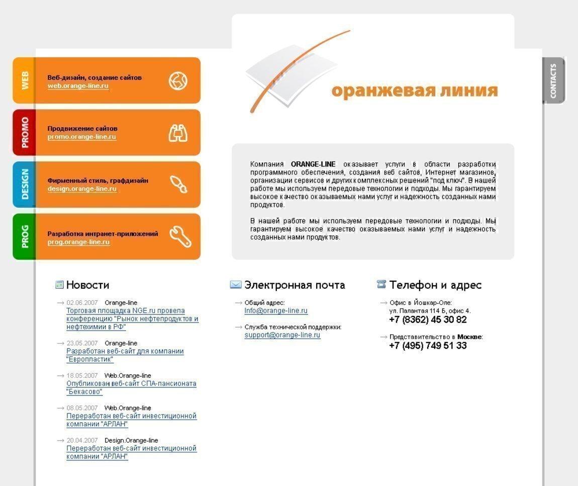 Дизайн продающего сайта примеры
