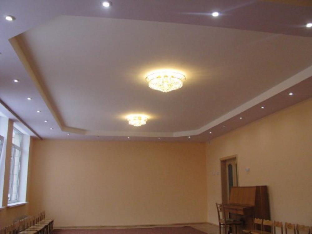 Красивые гипсокартонные потолки фото