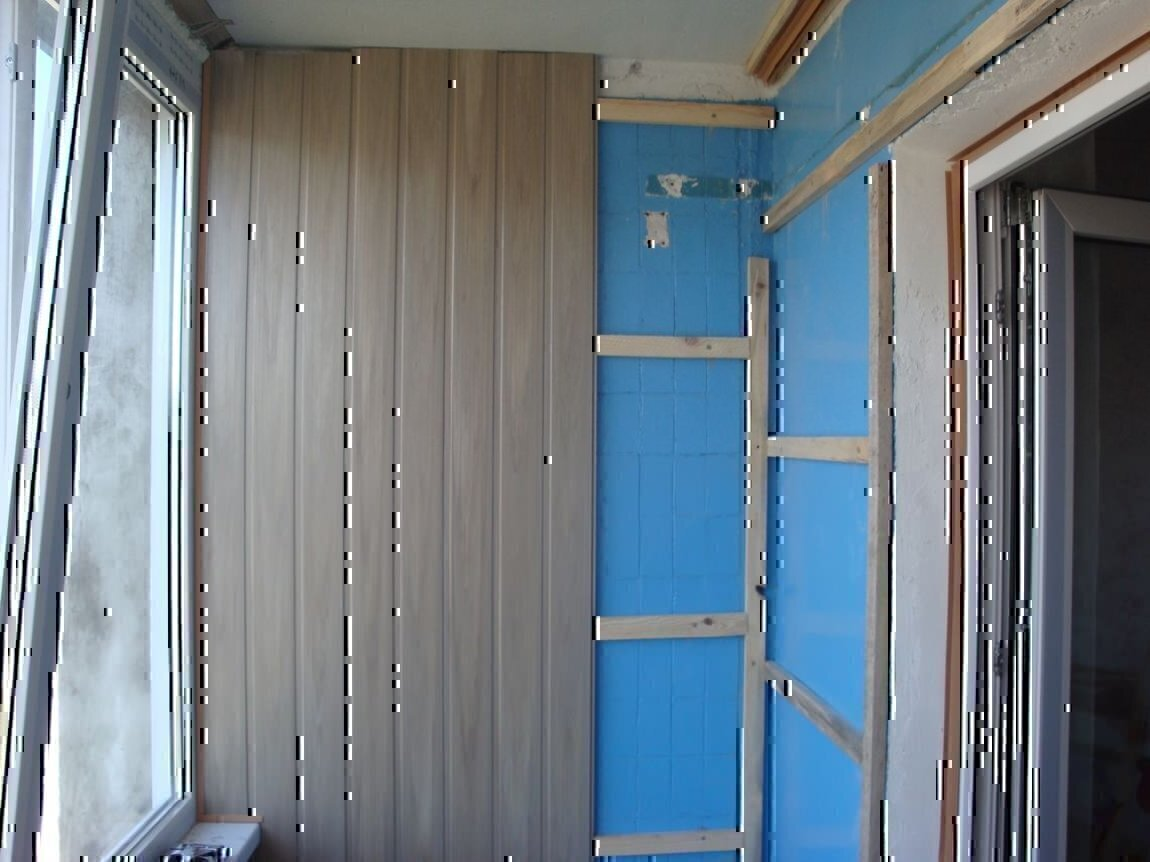 Обшивка балкон пластиковыми панелями видео.