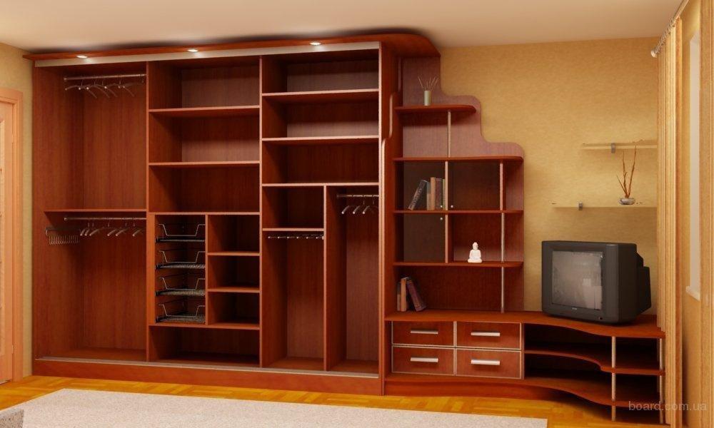 Встроенные шкафы для гостиной своими руками