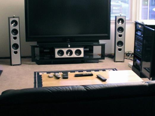 Как сделать звук от телевизора через домашний кинотеатр