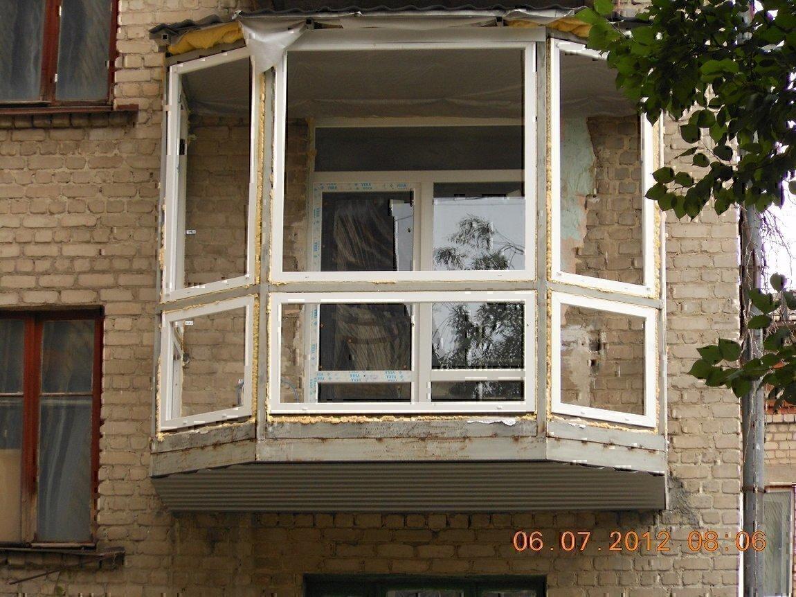 Бельцы ремонт аварийных балконов! расширение! перила козырьк.