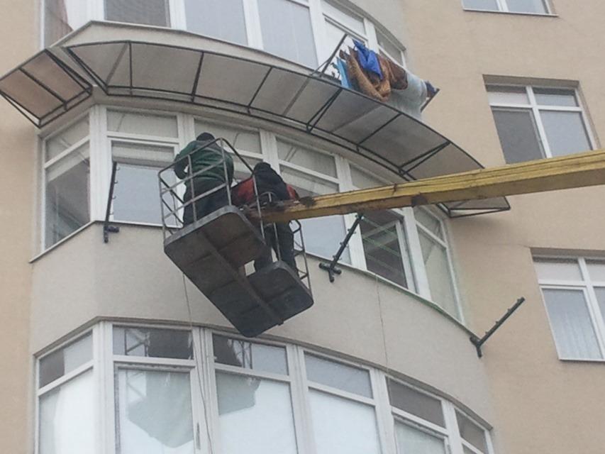 Балкон в доме на кронштейнах. - наши работы - каталог статей.