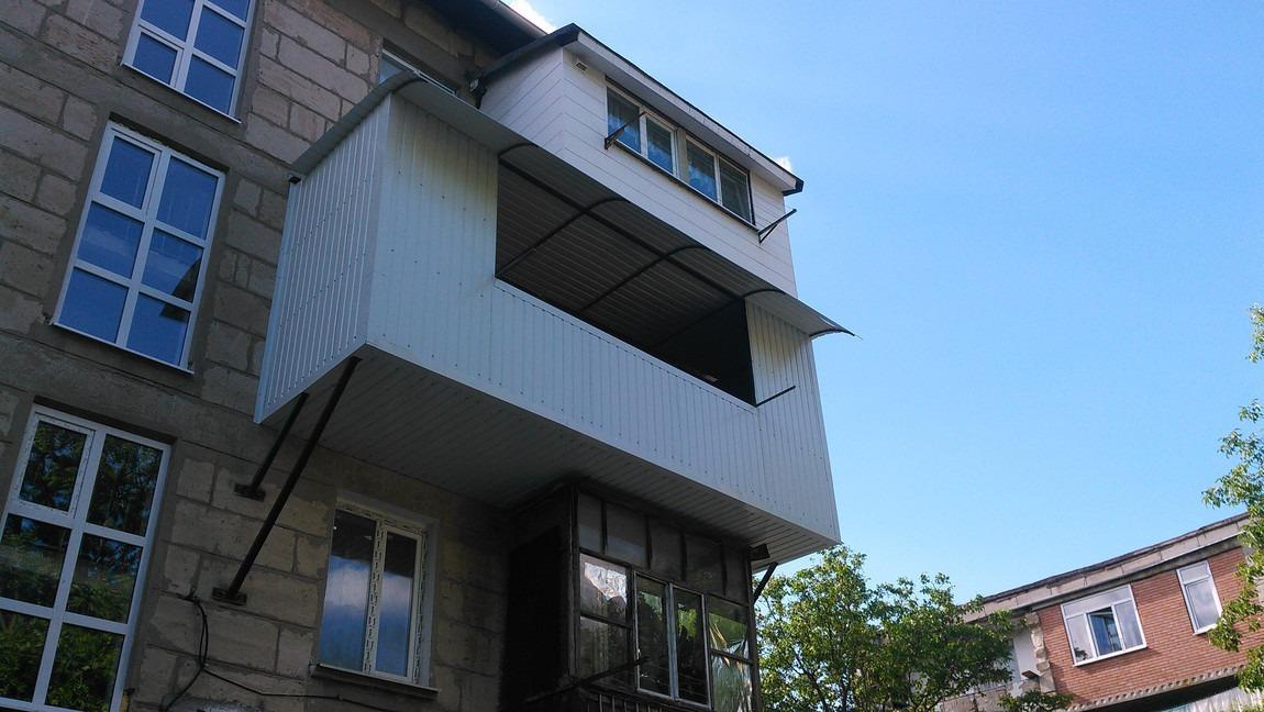 Укрепление утепление балконов..