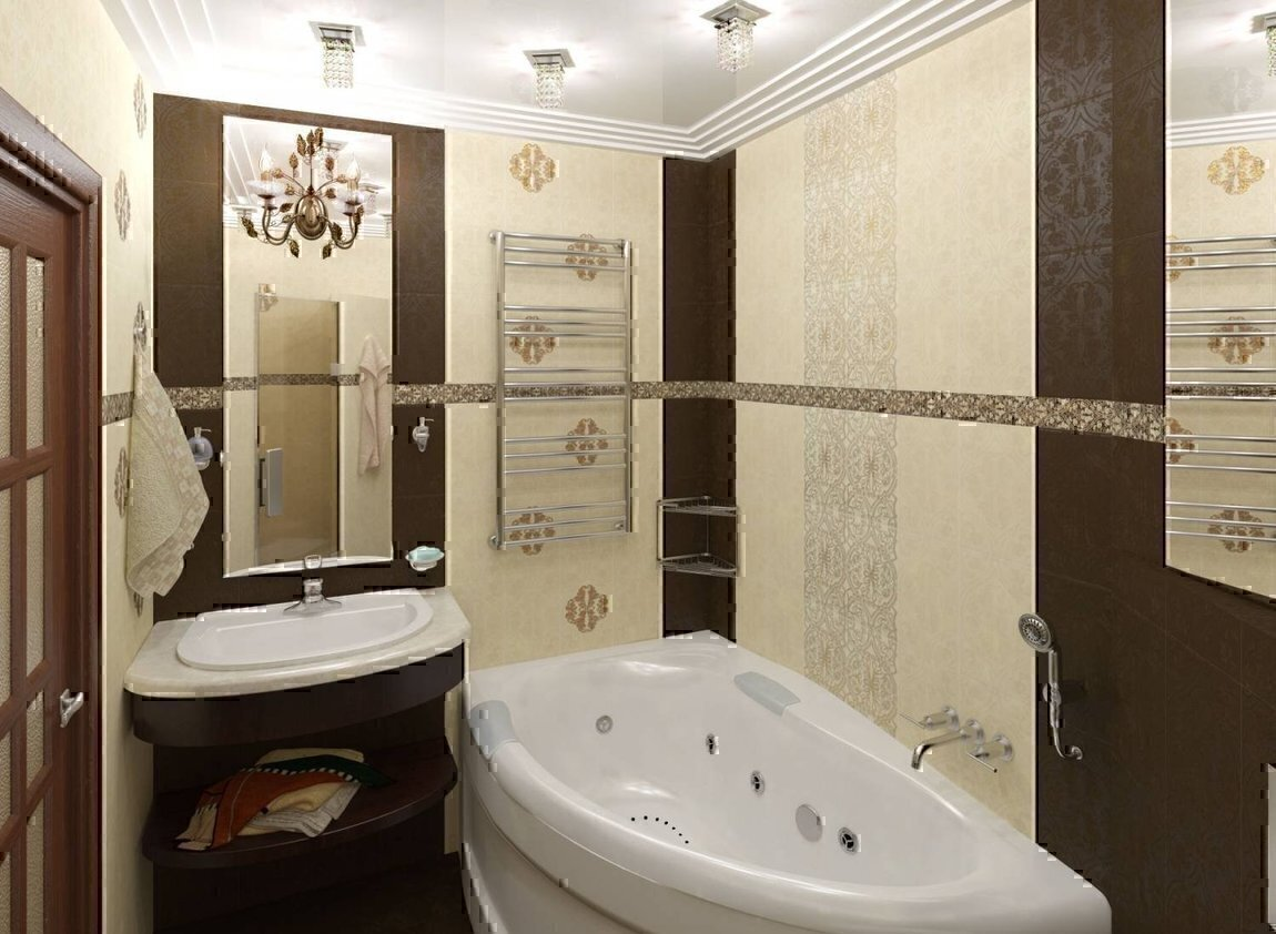 Ванная комната дизайн 4.5