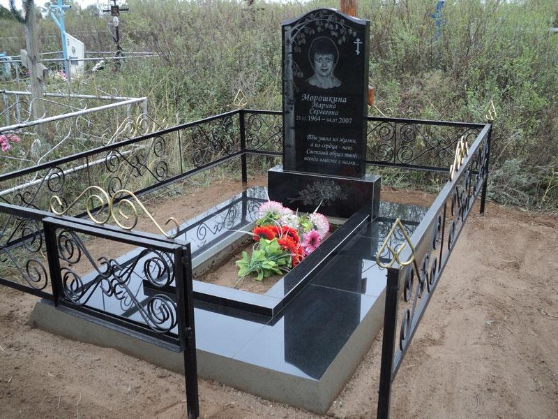 Как сделать надгробное