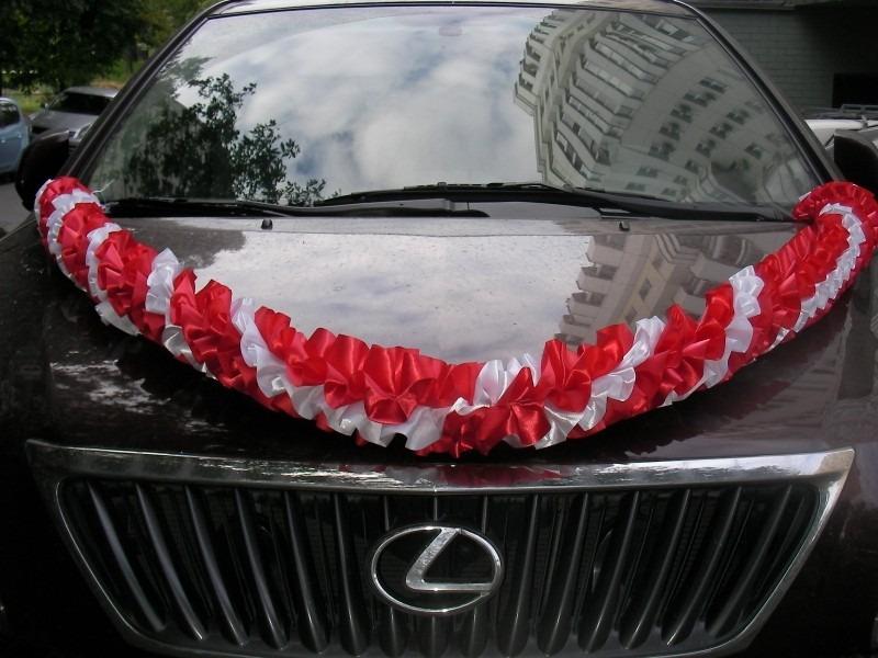 Ленты для машины на свадьбу своими руками