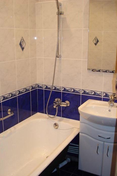 Кафель в ванной комнате дизайн фото бюджетный вариант в хрущевке