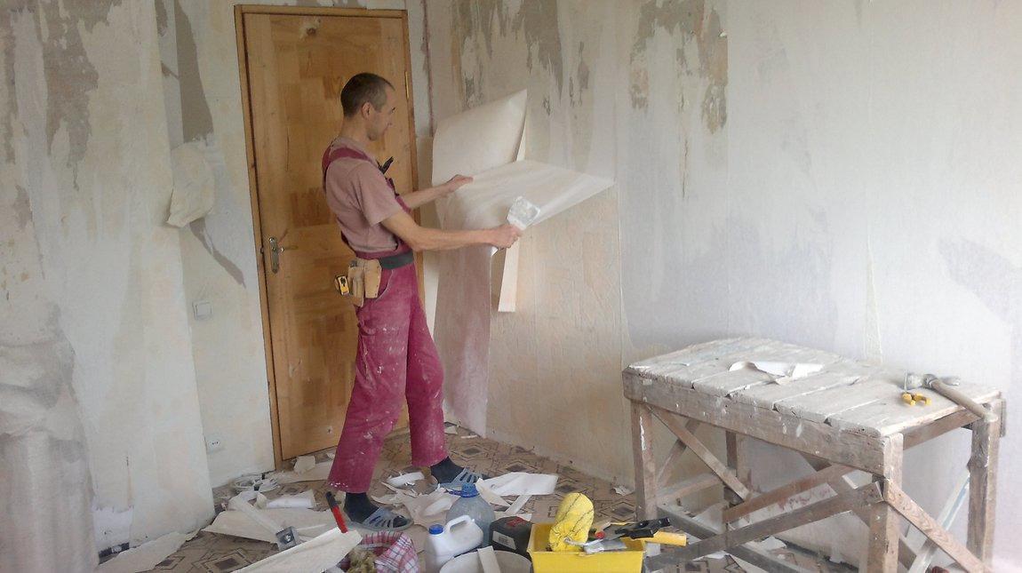 Ремонт стен в квартире своими руками: поэтапно