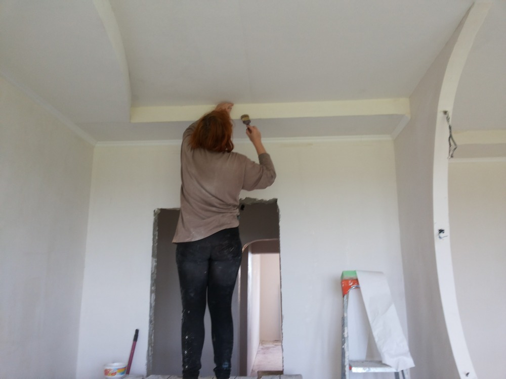 Шпаклевание стен под покраску