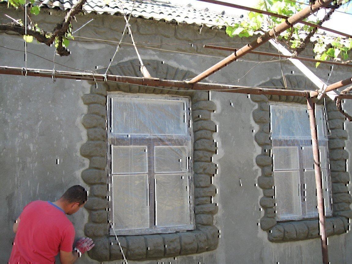 Как сделать шубу для фасада 299