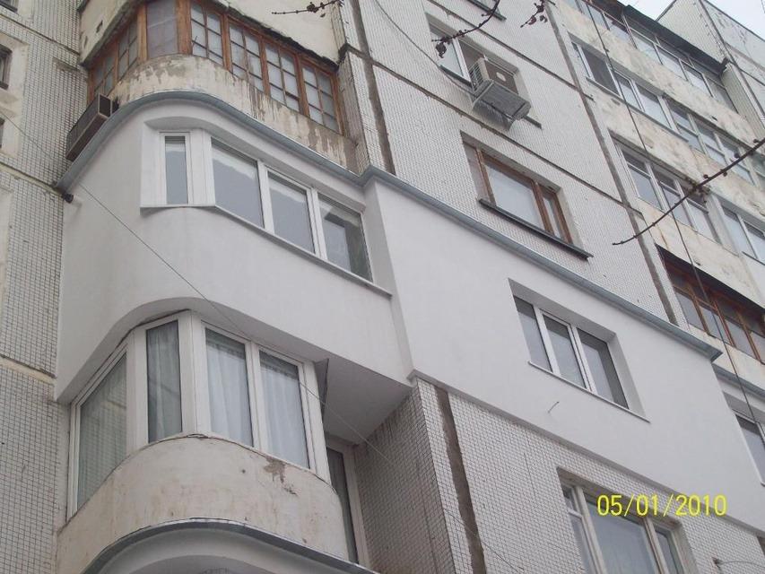 Фасадное утепление стен, балконов и т. д.