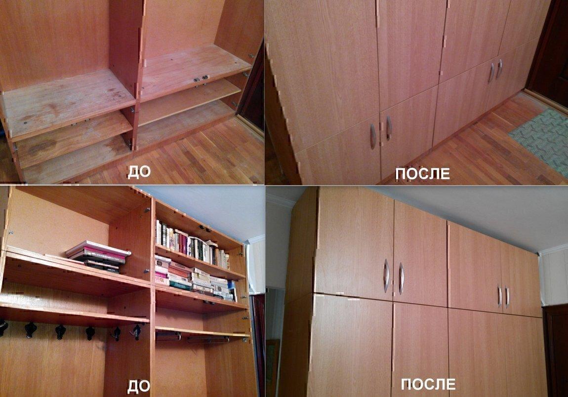 Как отремонтировать кухонный шкаф - sdelai-dochke.ru.