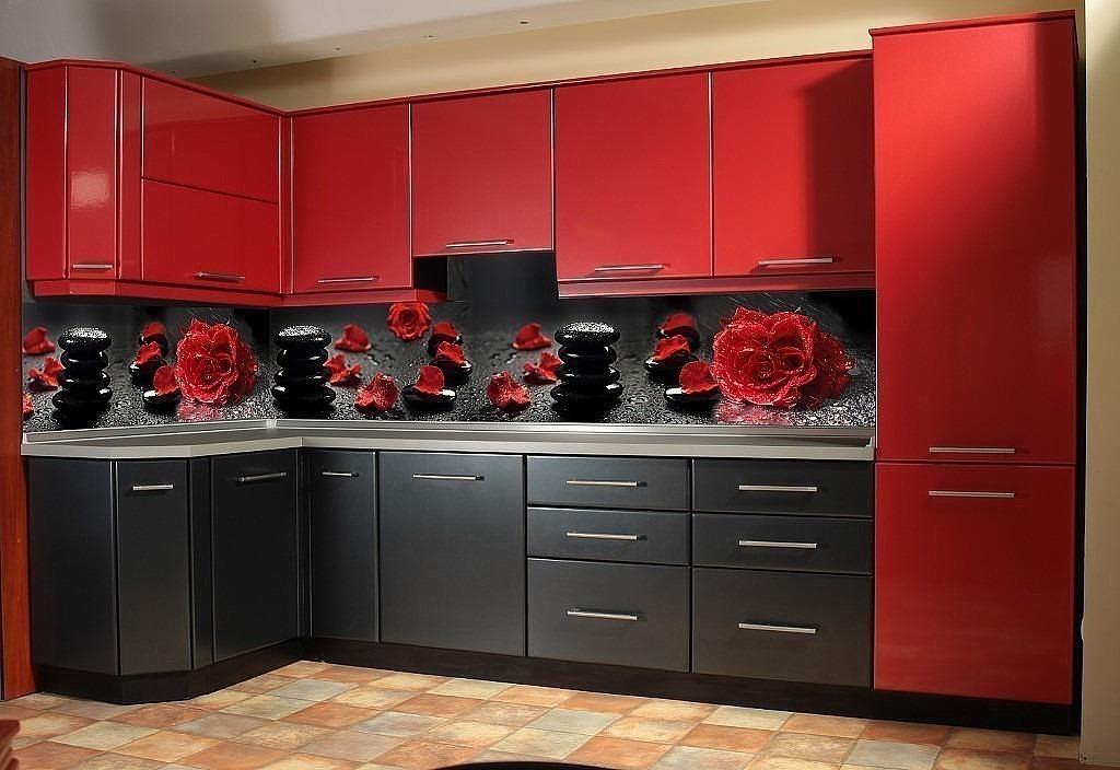 Красная кухня заказать