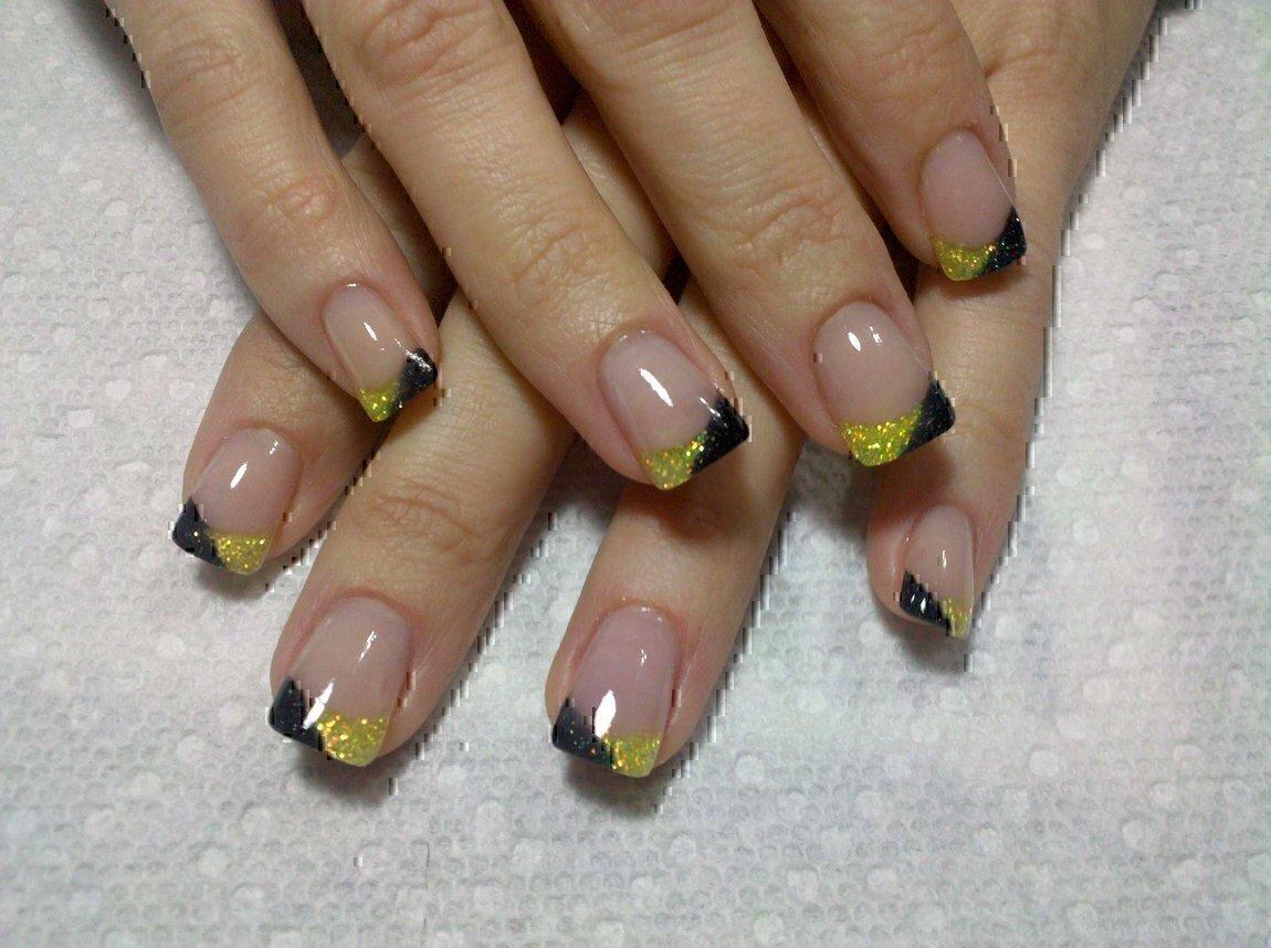 Фото ногтей без рисунка френч