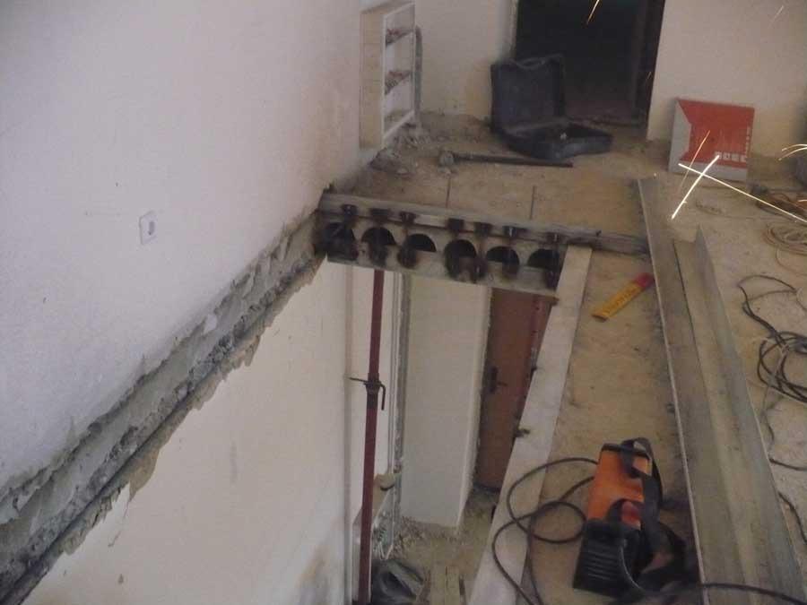 Бельцы. бетоновырубка резка бетона усиление проемов капиталь.