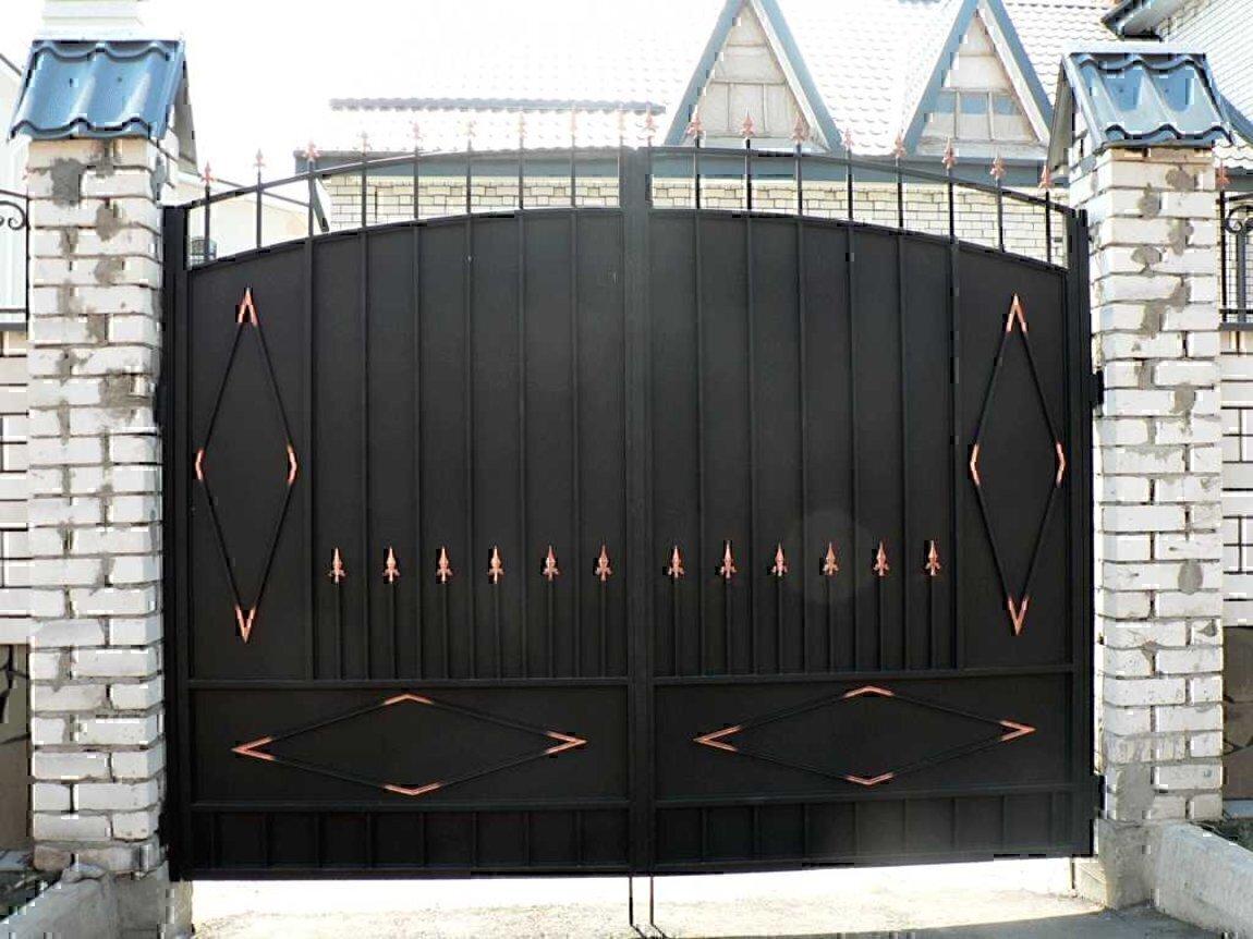 Ворота сварные цена за 1м ворота на роликах откатные