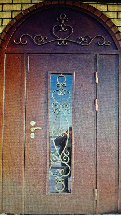 изготовить и установить стальную дверь