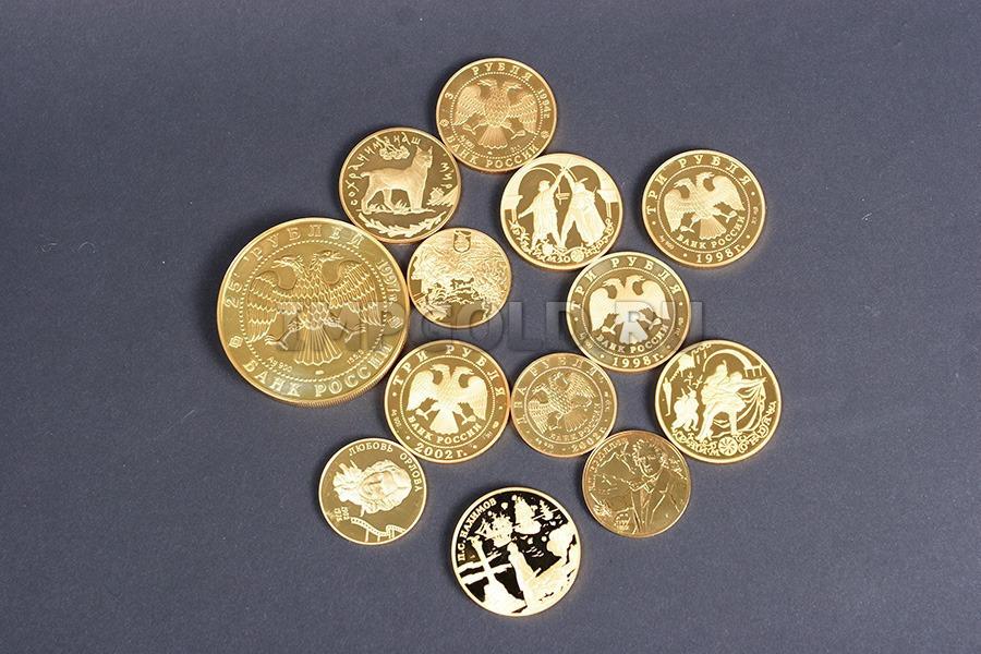 Как сделать монету из золота