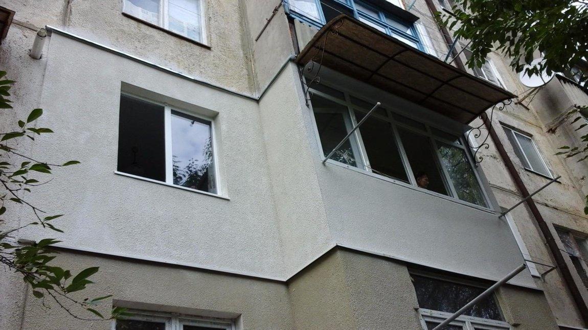 Бельцы изготовление крыш над балконами расширение утепление .