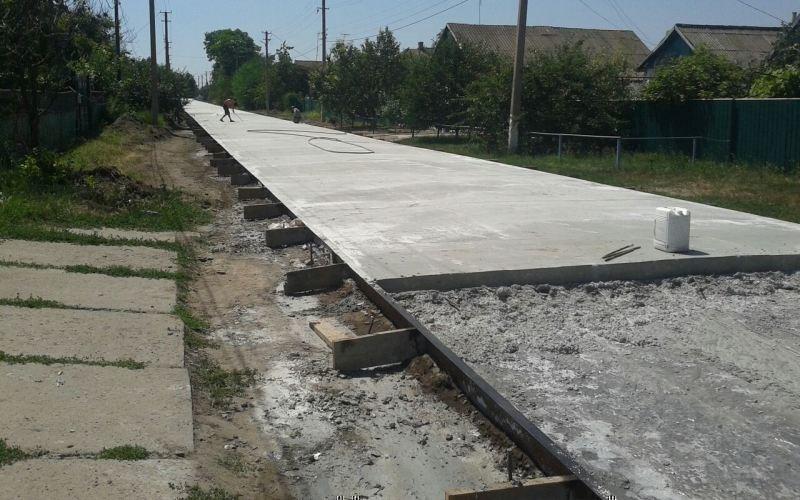 дорога из бетона своими руками