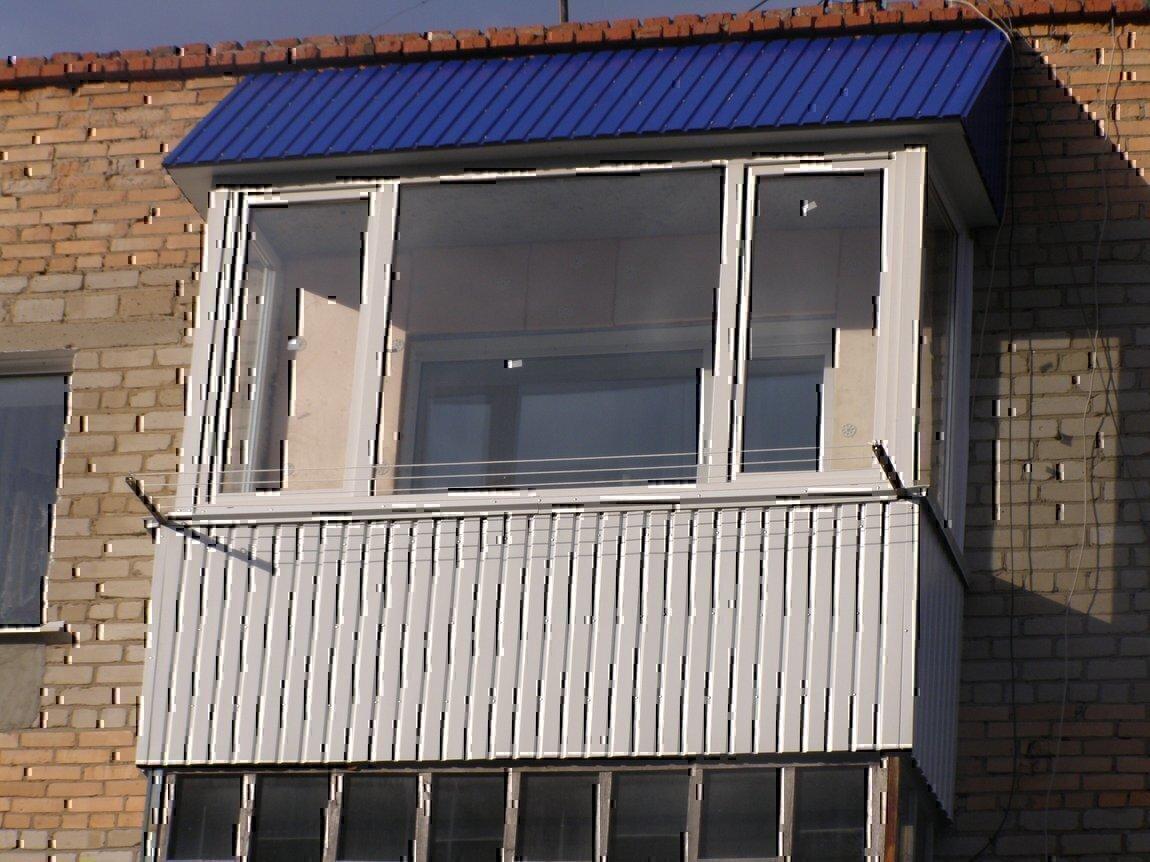 Крыша балкона своими руками - строительство крыши балкона.