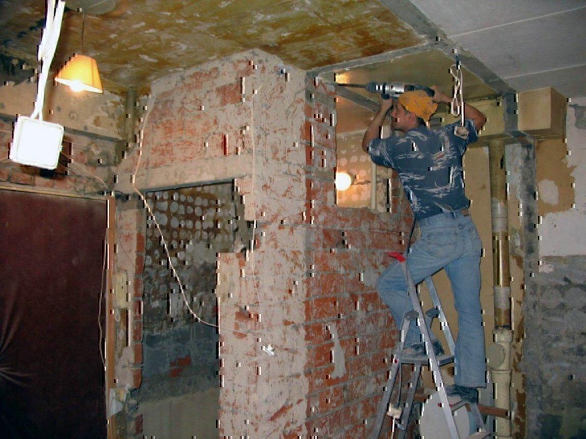 Штробим бетон плюсы бетона