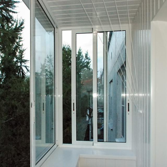 Aлюминиевые раздвижные двери, окна от производителя 40.