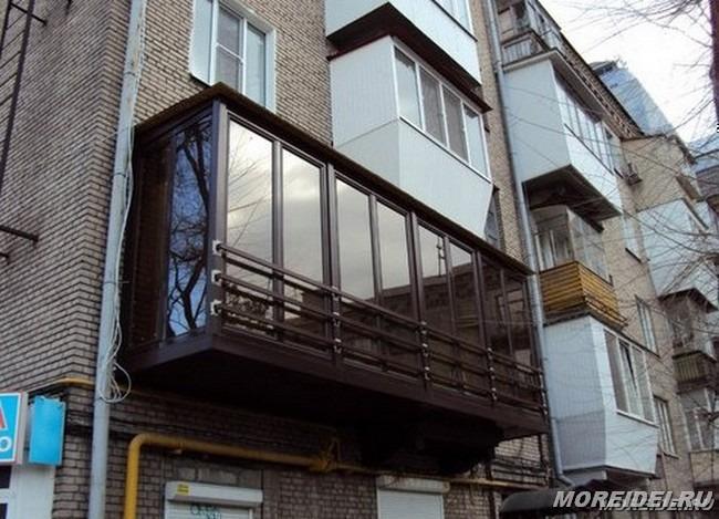Ремонт металлических балконов остекление балконов самстрой