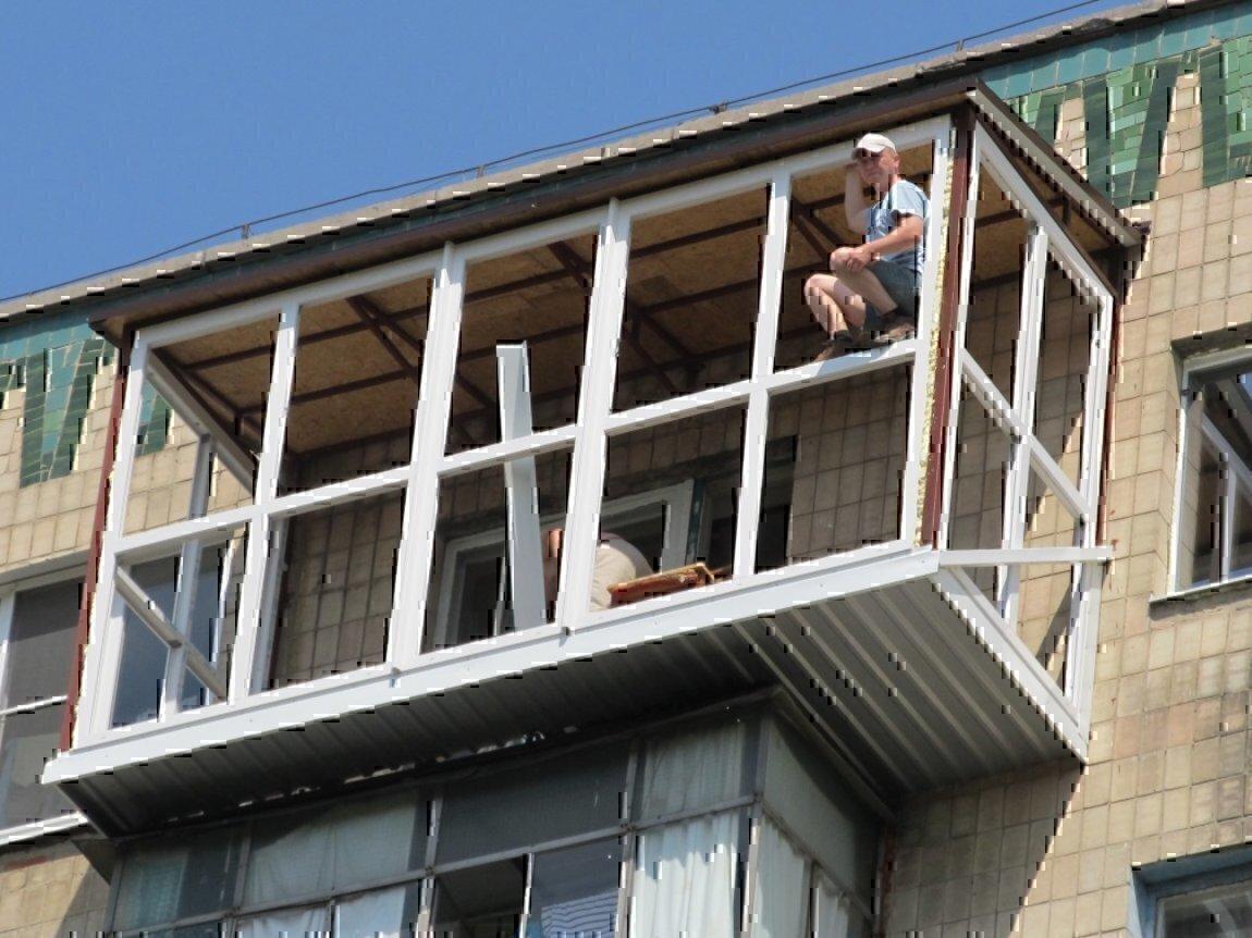 Ремонт металлических балконов стоимость ремонта балкона вагонкой