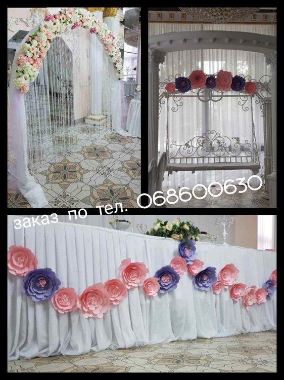 свадебное оформление бельцы Decor Nunta Balti