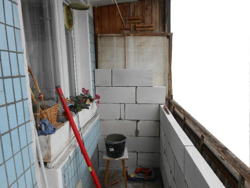 Расширение балконов 143 серии, кладка ремонт балконы кишинев.