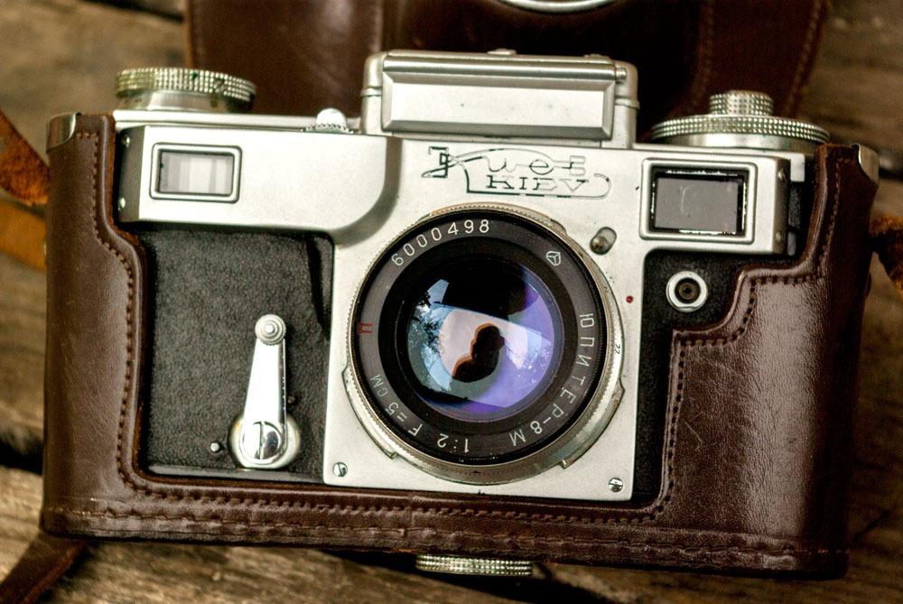 пробегом отснятая пленка фотоаппарата злата, как настоящий