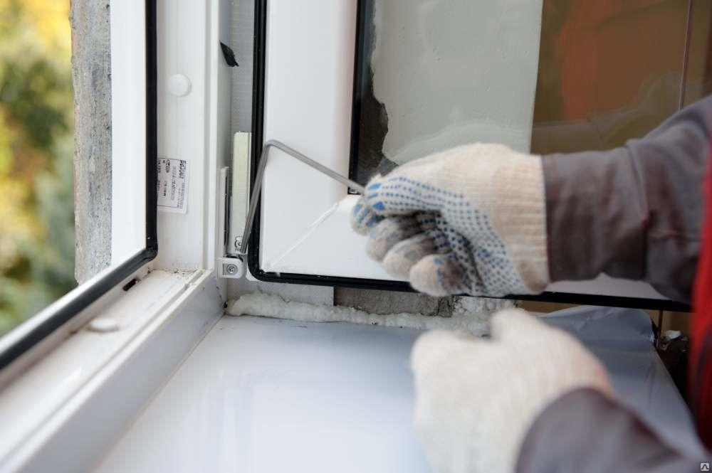 Регулировка и ремонт пластиковых окон.