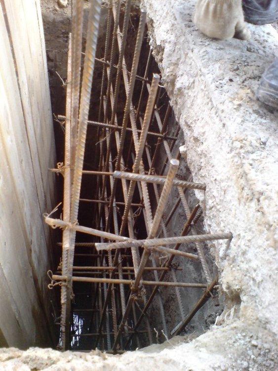 укрепления фундамента под построенный дом