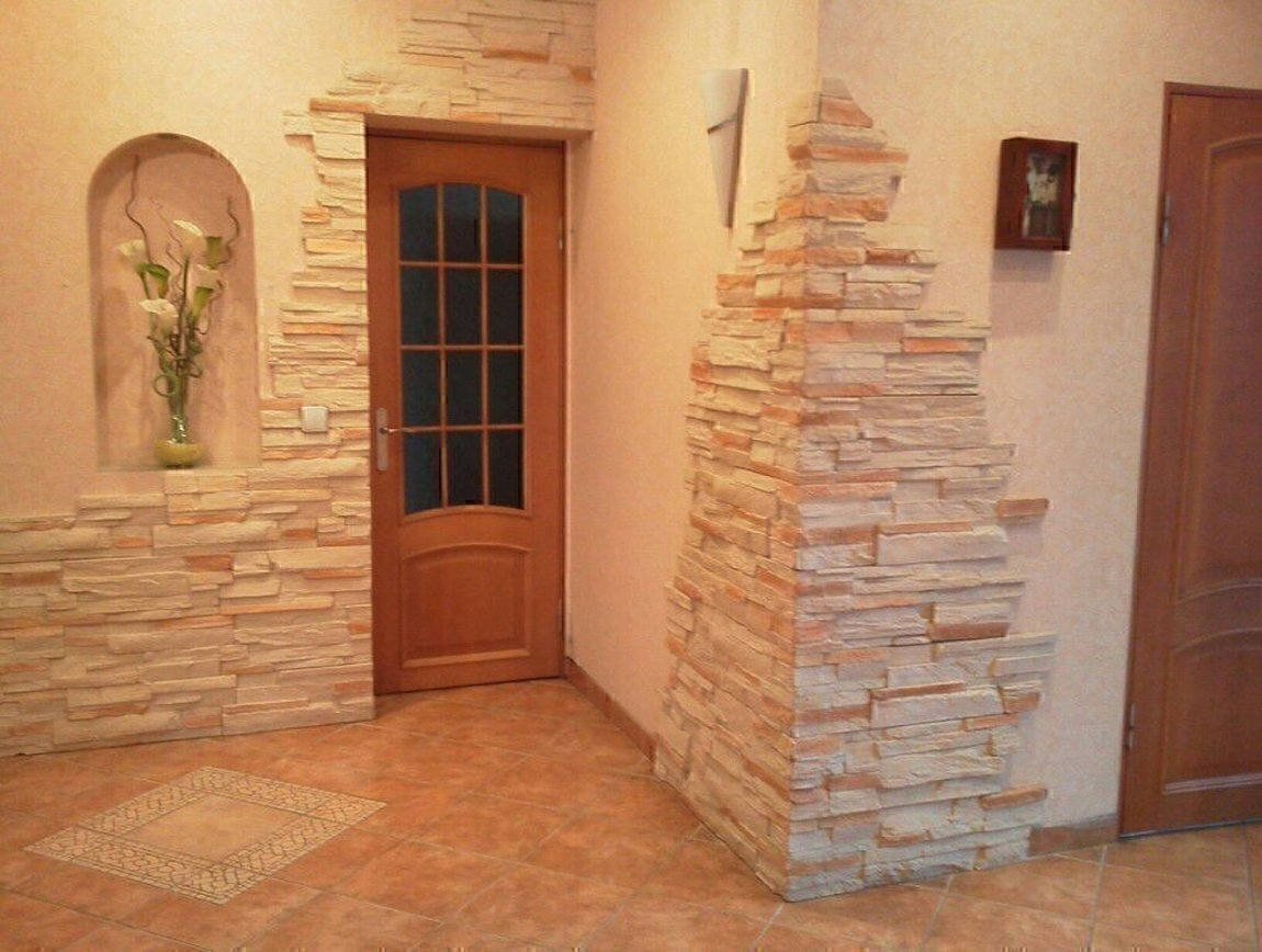 Декоративный камень и 3d панели для внутренней и внешней отд.
